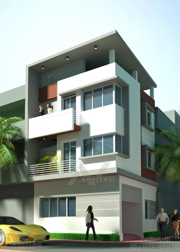 Nhà phố 2 mặt tiền 7mx7m NP23 (Chị Phương – Hà Nội)