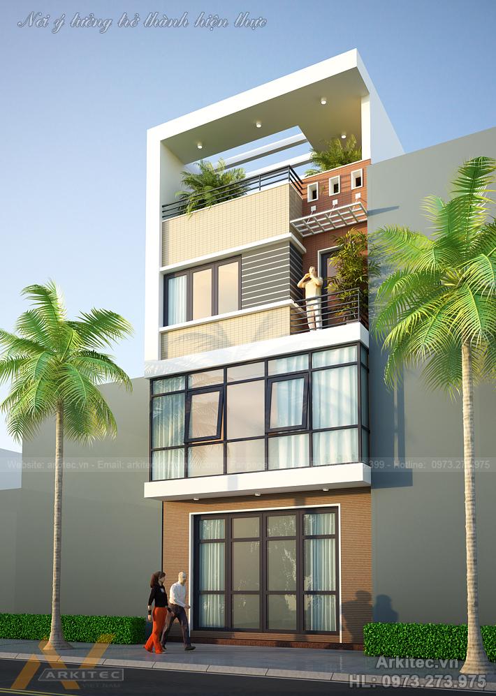 Nhà phố 4 tầng, 6x15m- NP23 (A. Nam – Hà Nội)