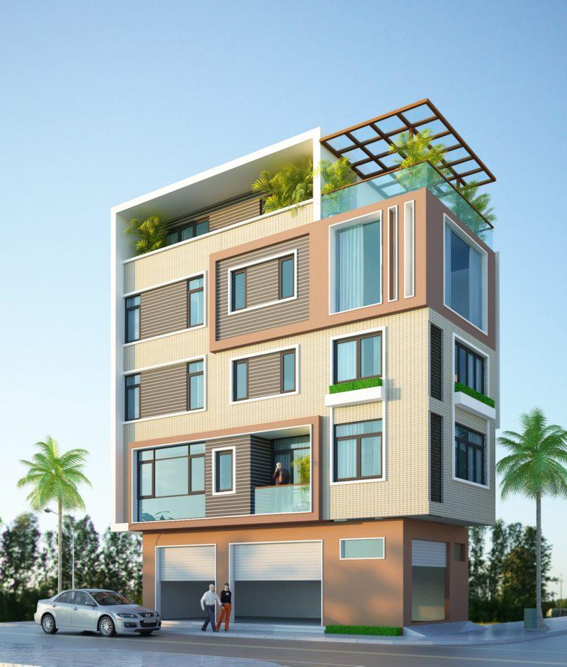 Nhà phố 12x5m 2 mặt tiền – Mr. Tuyển Cầu Diễn