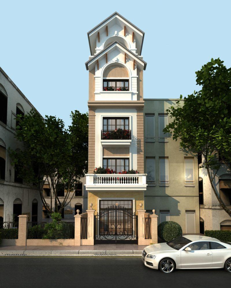 Nhà phố 5 tầng – 5x15m – Mr. Phúc Tây Hồ