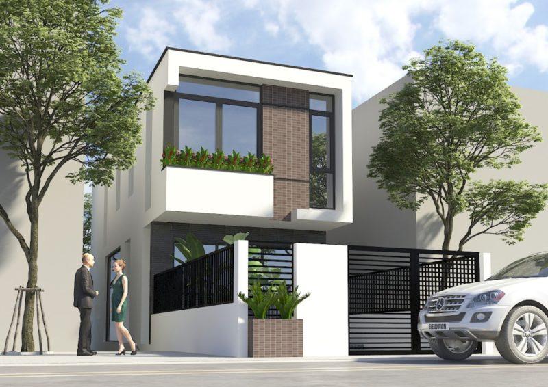 Nhà phố 2 tầng 5x20m – Mr. Nhanh Hưng Yên