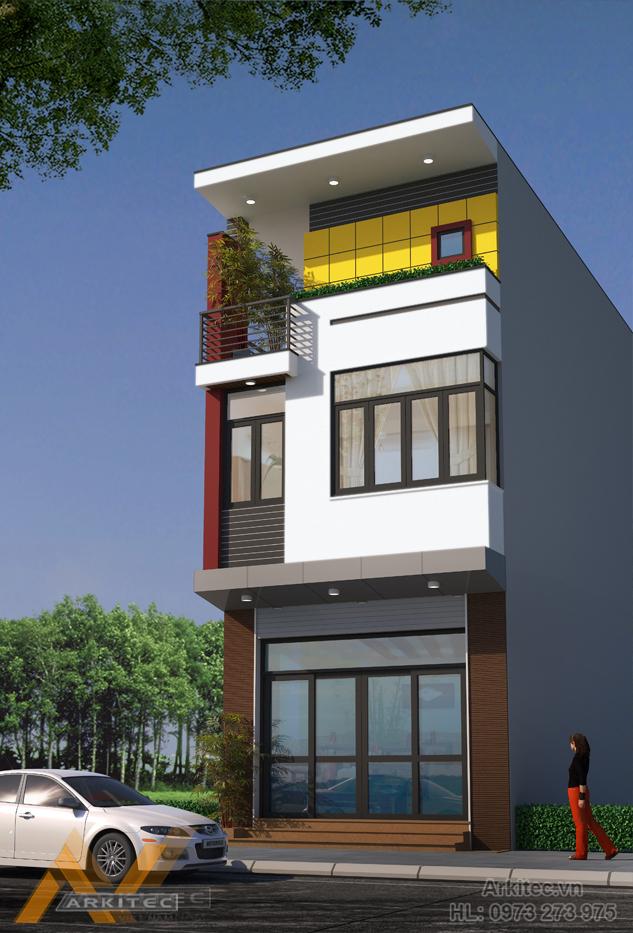 Nhà phố 4.7x13m