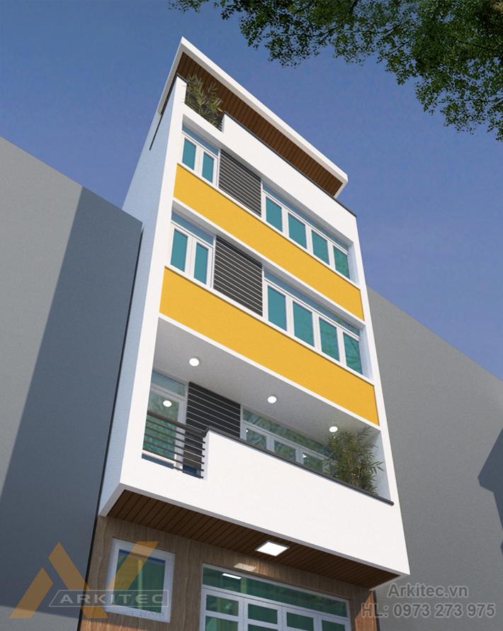 Nhà phố 6x6m