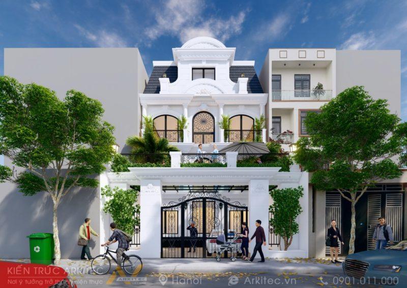 Biệt thự Xuân Hoà 10x15m – Mr. Viện